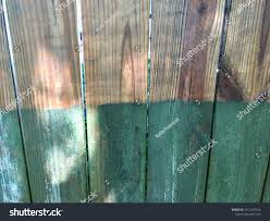 Fence Before After Pressure Wash Stock Photo Edit Now 1415257034