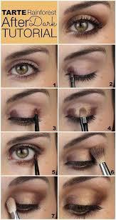 easy natural eye makeup tutorial step