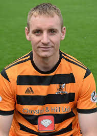 Alloa Athletic defender Andy graham feels his side will not be fazed by  being title favourites | Alloa and Hillfoots Advertiser
