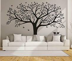 Anber Family Tree Wall Decal Butterflies And Birds Wall Decal Vinyl Wall Art Pho For Sale Online Ebay