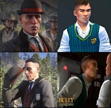 Why does Agent Milton look like Gary Smith from Bully? : reddeadredemption