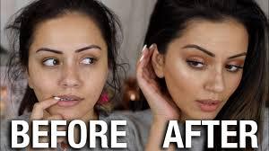 college work makeup tutorial