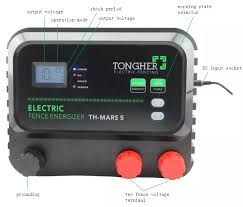 Solar Power Electric Fence Energizer For Goat Farming View Powerful Shock Electric Fencing Energizer Tongher Product Details From Shenzhen Tongher Technology Co Ltd On Alibaba Com