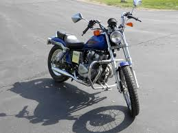 1985 honda rebel cmx250 front