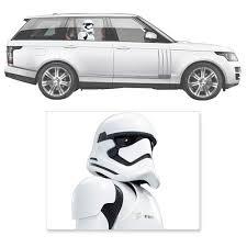 Star Wars The Force Awakens First Order Stormtrooper Window Wrap Passenger Series Car Decal