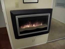 sahara wall mount electric fireplace