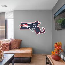 New England Patriots Fathead Giant Removable Decal