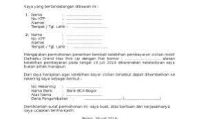 Contoh Surat Permohonan Pembayaran Uang Muka Kumpulan Surat Penting