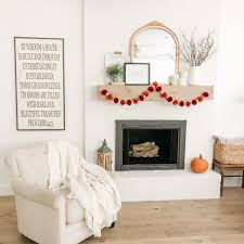 our fireplace makeover reveal beneath