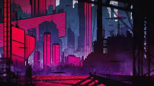 neon city puter wallpapers