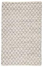 natural trellis ivory navy area rug 2x3