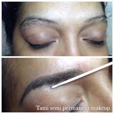 eyebrow hair stroke permanent makeup