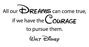 All Our Dreams Can Come True Disney Quote Wall Decal Whimsidecals