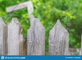 Sharp Triangular Tops Of A Wooden Fence On A Garden In The Morning With Texture Wood Stock Image Image Of Hill Nature 158765351
