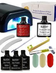 mini gel nails starter kit with pastel
