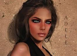 Second Life Marketplace - [KF] Skin Adele white lips natural dark
