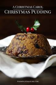 a christmas carol christmas pudding in literature