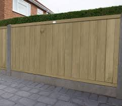 Forest Vertical Tongue And Groove 6 X 3 Ft Fence Panel Gardensite Co Uk