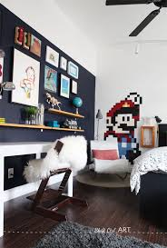 A Home For Design Remodeling Design And Diy Blue Kids Room Childrens Interiors Gamer Decor
