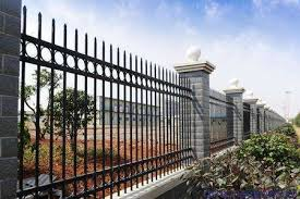 Black Powder Coated Galvanised Square Steel Tube Balcony Baluster Design Fence