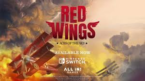 red wings aces of the sky out now for