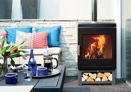 gas patio heater or wood burner