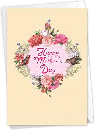 Amazon.com : The Best Card Company - Beautiful Card for Mother's Day -  Loving, Heartfelt Card for Moms, Stepmom - Birds and Blossoms C6577GMDG :  Office Products