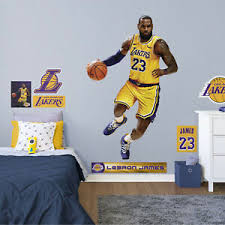 Lebron James Fathead Nba Los Angeles Lakers Wall Decal Decor 889759079860 Ebay