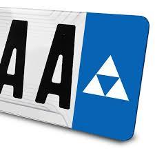 Sticker Triforce Zelda Pour Plaques D Immatriculation Sticker Decor Wall Decal Sticker Triforce
