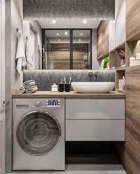 super stylish laundry bathroom design ideas