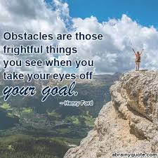 Henry Ford Quotes on Overcoming Obstacles - abrainyquote