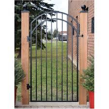 Nuvo Iron 68 X3 Ornamental Iron Fence Gate Home Hardware