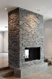 slated double sided fireplace i like