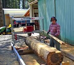 small sawmill diy peterson portable