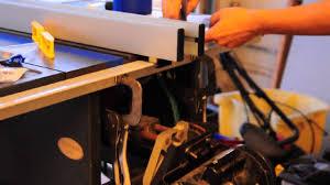 Installing A Delta T2 Fence Onto Craftsman 113 Xxx Saw Youtube