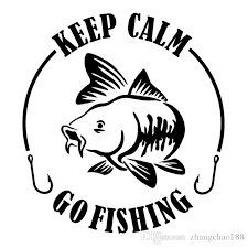 2020 15 2 15 4cm Keep Calm Go Fishing Fashion Vinyl Decal Car Sticker Ca 1174 From Zhangchao188 0 34 Dhgate Com