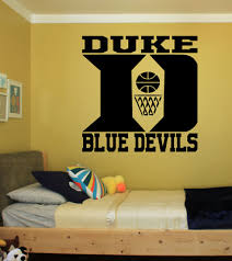 Duke Blue Devils Large Wall Vinyl Die Cut Decal 22 Inches College Basketball Ebay