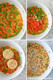 nutritarian un fried rice o