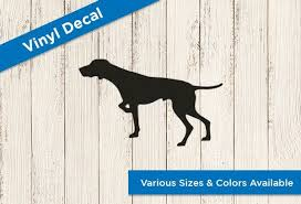 Gsp Vinyl Decal Laptop Decal Window Decal German Shorthair Pointer Laptop Decal Vinyl Decals Window Decals