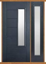 newbury grey composite side panel door