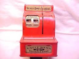 TOY UNCLE SAM REGISTER BANK | #457938213