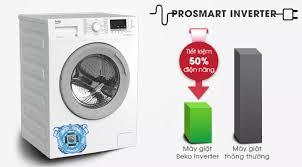 Máy giặt Beko Inverter 7 kg WTE 7512 XS0 - Hàng Chính Hãng