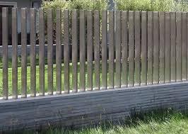 25 Best Concrete Fencing Design Ideas For Backyard Remodeling Plan