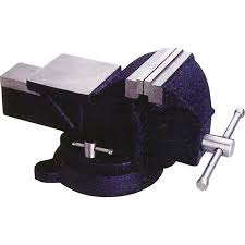 Mintcraft Jl250113l Heavy Duty Bench Vise 4