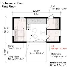 two bedroom modern house plans