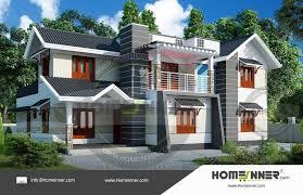3000 sq ft 4 bhk modern house elevation
