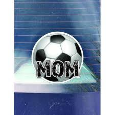 Soccer Mom Vinyl Decal Sticker Cars Trucks Vans Walls Laptops Cups Printed 5 25 Inches Kcd1039 Walmart Com Walmart Com