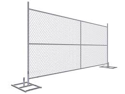 Buy Portable Chainlink Fence Panels 6ft X 12ft 6ft X 10ft O D 1 1 4 And 1 3 8 For Sale Temporary Chain Link Fence Manufacturer From China 109155075