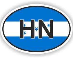 Honduras Decal Etsy