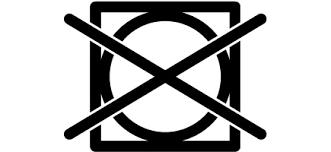 O significado dos símbolos nas etiquetas da roupa